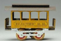 Toy, Train and Cast Iron Auction / On July 26 & 27, Morphy Auction's will be holding a Toy, Train, and Cast Iron auction with over 700 lots of trains, 100 pieces of figural cast iron, and many more. Highlights include a rare Howard trolley, a Lionel trolley, an Electoy passenger set, and a Delker train store display. The collection offers most trains in their original boxes; and includes pre-war, post-war, and contemporary items. For more information, visit us at: www.morphyauctions.com