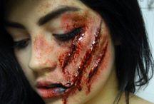 Face paint halloween makeup SFX / Halloween make up SFX and face painting ideas for inspiration