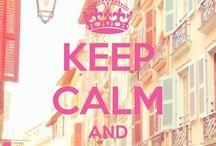 Keep calm!! / Mmm