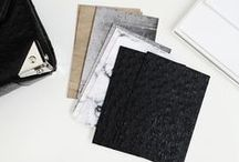 Modern Stationery / Minimal, modern & timeless stationery from Well-Received.com