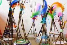 Kids crafting / Eine Zusammenstellung kreativer (Recycling) bastel Ideen, die ihr alleine mit Kindern oder Gruppen und Klassen umsetzten könnt. Eurer Fantasie sind keine Grenzen gesetzt, wandelt die Vorschläge ab und lässt euch zu eigenen Kreationen inspirieren