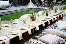 Party Decor / Decorating ideas for birthdays, weddings, bridal/baby showers and all other celebrations in between