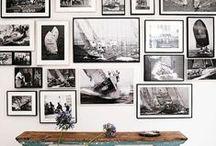 Gallery Wall Ideas / Inspiração para decorar a casa com fotografias • Ideas on how to use photography in interior design