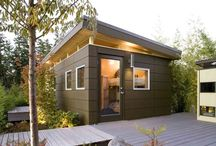 backyard shed / abri de jardin