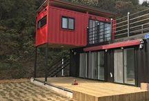 Container house / Maison-conteneur
