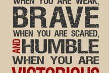 Inspirational Quotes / Wonderful words of wisdom.