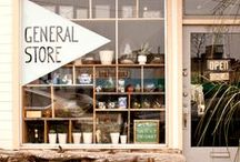 Natural Store Style / Tiendas, store deco, decoracion tiendas