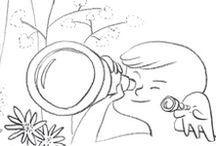 COLORIAGES / Chaque vendredi retrouvez les gribouillis de MaCocoBox sur le blog. A télécharger, imprimer et à faire gribouiller à loisir par vos petits CocoKids créatifs !  Free coloring pages, coloring sheets, doodles for kids. Have fun and draw !