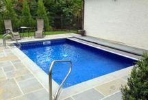 In-Ground Pools / In-ground pool designs for backyards of homes.