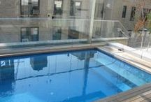 Roof Top Pools / Pool design and installations for Roof Tops on buildings or homes.