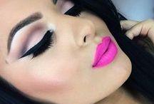 Makeup / #Visagie #make-up  #face art / by Pinterest Girly Girl