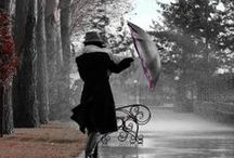 Rain,rainy places and days,Umbrellas