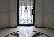 front door entry, staırcase