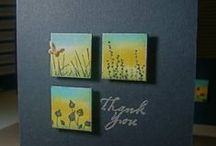 GrandmaBet's Thankyou Cards / handcrafted thankyou cards