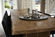 Tables, wooden / Tables timber