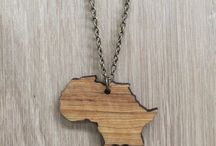 jewelry, wooden / Wooden jewelry showcase by Wood4Africa