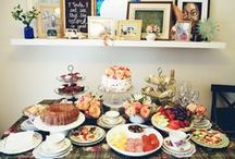 Afternoon Tea Bridal Shower / (c) 2015 www.derpinsel.com