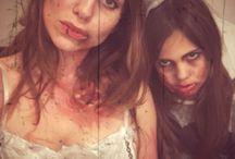 Halloween makeup / Norah's vamp