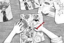 Illustrations / De belles illustrations, des images pleines de talent