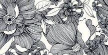 Pattern / Jolis motifs de papier peint et de tissus