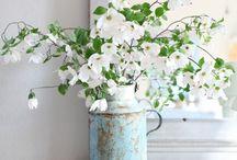 Vive le printemps! It's Spring time! / Une ambiance champêtre pour célébrer cette jolie saison - avec plein de fleurs - Let's celebrate Spring and countryside inspirations <3