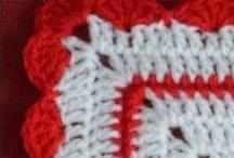 Granny 2012 / Durant 2012, j'ai crocheté un granny par semaine! A vous de les découvrir!:)