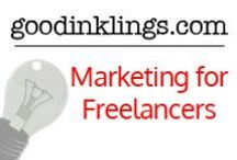 Marketing for Freelancers / Here is where you will find great tips, tricks and advice to help market yourself and your business. #freelance #freelancing #marketing #social media