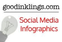Social Media Infographics / Great infographics for social media. #infographics # socialmedia