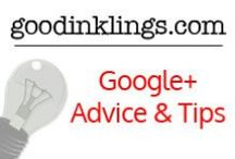 Google+ Advice and Tips / All things Google+. Advice and tips from the best in the marketing industry. #googleplus#blogging#socialmedia