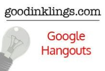 Google Hangouts / A collection of Google+ Hangouts that will help your business reach the next level. #socialmedia #marketing #googleplus #videos