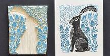 Lino Cutting / Creating something out of nothing