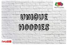 Unique Hoodie / Our Unique Hoodie is a unique concept where you print on the back of the hood! So become whoever you want to be! Here are some designs to get your imagination going!