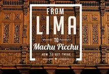 Macchu Picchu - in my Bucket List / My dream holiday destination- I must go there soon!