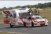 Bailey and Honda at The British Touring Car Championships / A joint initiative between Bailey of Bristol and Honda to promote caravanning for outdoor pursuits.