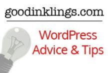 WordPress Advice and Tips / Great WordPress advice and tips that will help you rock your website