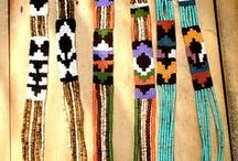 Happy Hippy Native woman / Over alles wat mij mooi staat, wat lekker draagt; kleur, native prints,