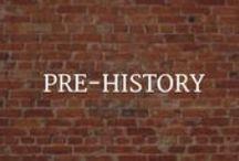 For Teachers: Pre-History / Pre-history teacher aids, photos, and infographics.