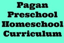 Pagan Homeschooling / When I first ventured into the world of homeschooling, I quickly discovered that there was hardly no resources out there for Pagan homeschoolers. My solution? Make my own Pagan homeschooling resources! Follow me on www.primordialwillow.com as I write about my family's earth-centered homeschool, as well as the Pagan preschool curriculum I've created for my witchlings.  / by Danie {Primordial Willow}