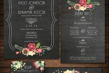 Guest List Only / Wedding invitations