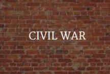 For Teachers: Civil War / Civil War teacher aids, photos, and infographics. / by World Treasures