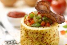 Recettes Omelettes / L'omelette est l'une des mille et une façon de cuisiner les oeufs...