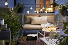 O U T S I D E / Déco extérieure, jardin, terrasse, deco, agencement, balcon, space, espace