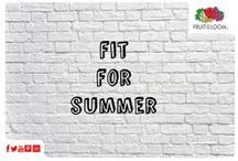 Fit for Summer / Our SofSpun® T's come in a fashion fit that is a great summer look.  To keep ourselves in top summer shape, we want to share all things Fruit Smoothie related! Enjoy!