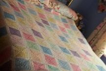 Lindsay's Blanket / Lindsay's replicated baby blanket in a double bed size