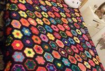 Zoe's Blanket / The creation of Zoe's sofa throw, single bed size blanket