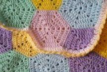 Luna-Belle's Baby Blanket / Luna's baby blanket and crochet shoes