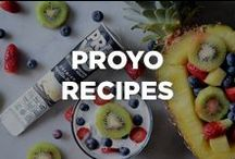 ProYo Recipes / You already know that ProYo offers the convenience of being enjoyed on-the-go, but when you have a little extra time to spare, it's fun to get creative with your ProYo, and create some awesome new guilt-free treats.  Try some of our recipes, or make your own, and find some inspiration here!