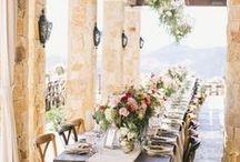 Italian Wedding Inspiration / Venues, table décor and styling ideas for your destination wedding in Italy.   Please note, these have not been created by Weddings by Emily Charlotte.