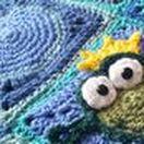 Frog Frenzy Blanket