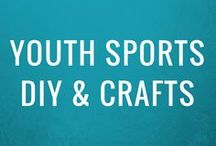 Youth Sports DIY + Crafts / Sideline Society's DIY + Crafts board is for any and all creative DIY + Craft projects and ideas for athletes, sports related activities and teams!  Get quick, easy, and low-cost projects that are fun to make and even more fun to share!    FOLLOW THIS BOARD + GET INSPIRED!    To be a pinner, email shaki@sidelinesociety.com.  Join our community + become a #SidelineHacker at https://goo.gl/z1UVo3 – All are welcome!